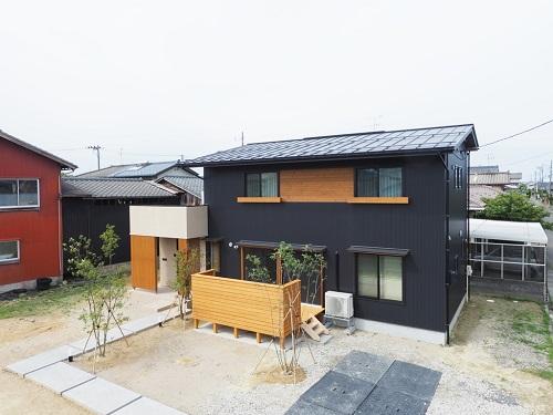 立平葺き 縦平葺き 竪平葺き 新築 ガルバリウム鋼板