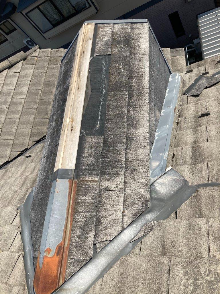 屋根板金飛散