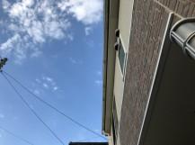 新潟市西蒲区 雨樋交換