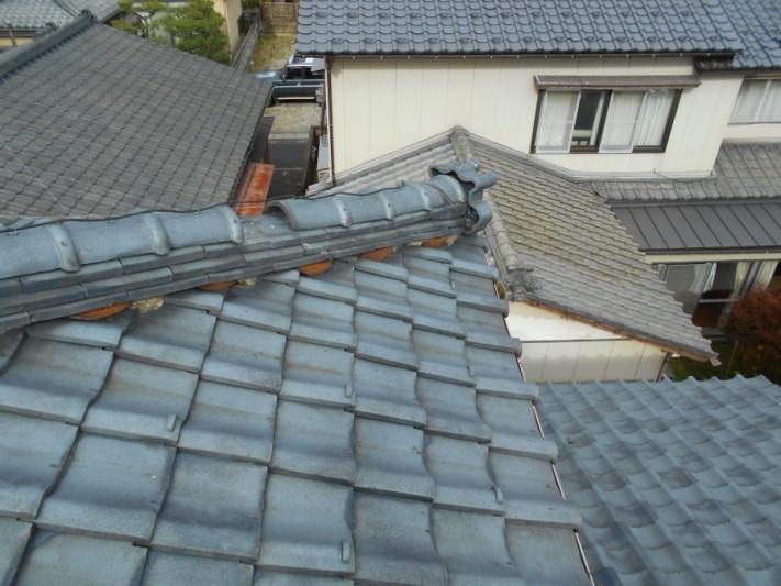 新潟市西区棟瓦被害