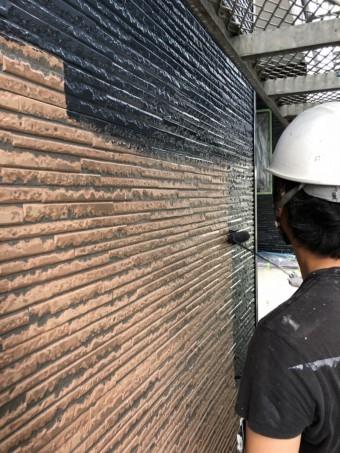 新潟市中央区 外壁塗装