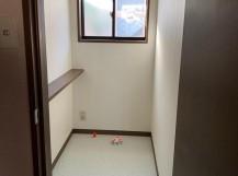 トイレ内装工事完了