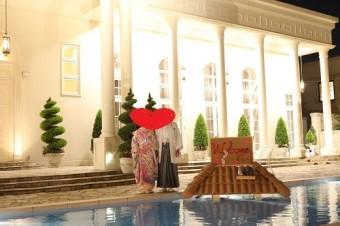 結婚式 瓦のウェルカムボード