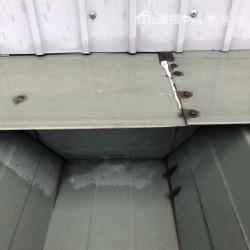 折板屋根雨漏り