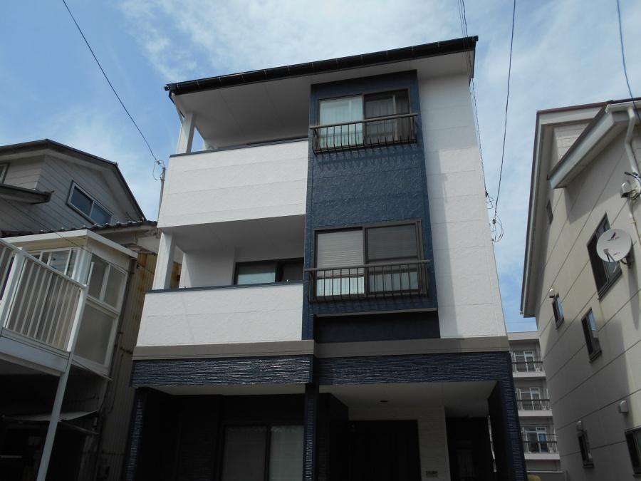 新潟市中央区屋根外壁リフォーム工事 工事後写真