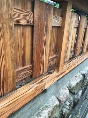 木塀塗装メンテナンスウッドロングエコ