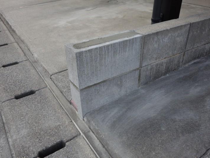 コンクリートブロック破損工事