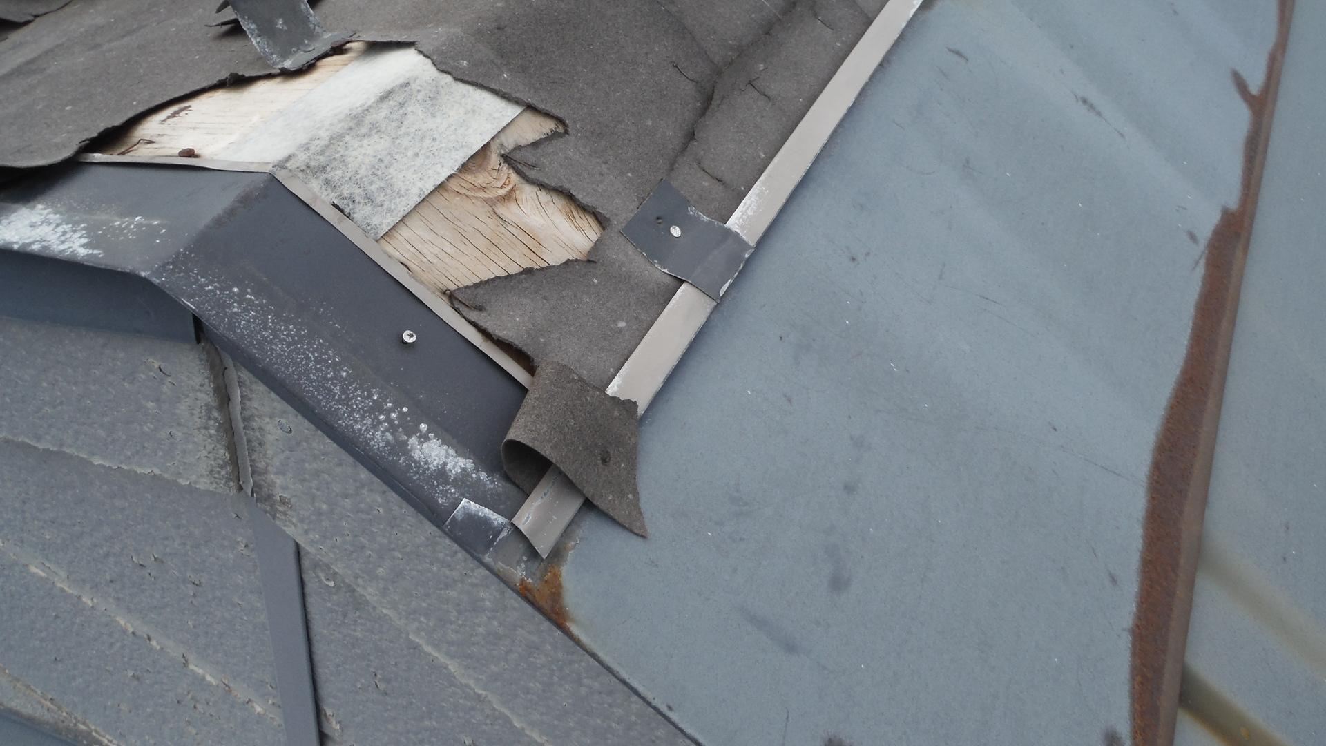 ドーマー屋根葺き替え工事