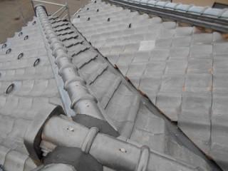 竣工 棟付き 隅棟 雨漏り修繕