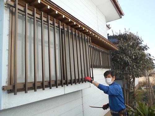 出窓解体 外壁解体 新潟市北区