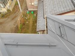 落雪防止用フェンス設置工事