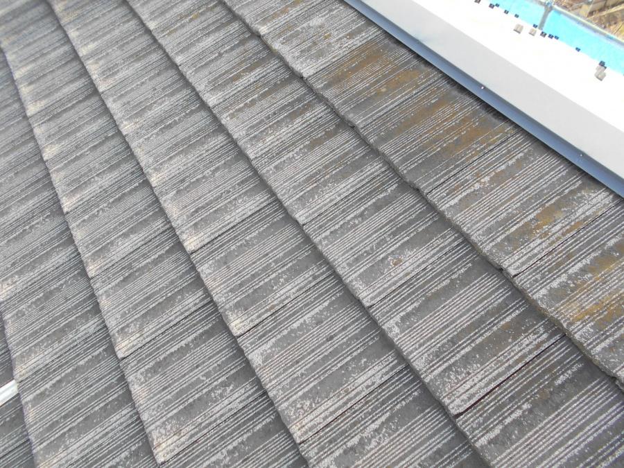 新潟市秋葉区 瓦塗装のタイミング
