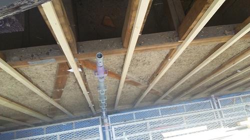 外壁張替工事、断熱施工