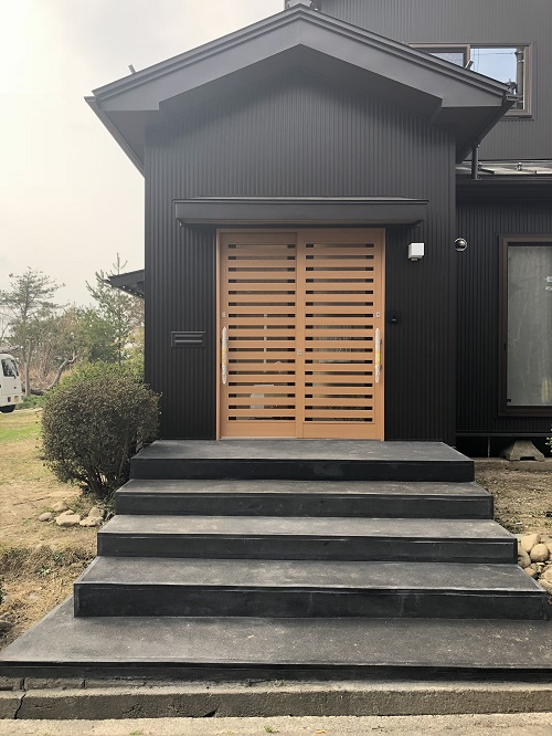 外壁張替 吹付断熱施工 屋根茎替え工事