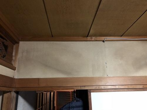 新潟市東区 雨漏り 壁 染み