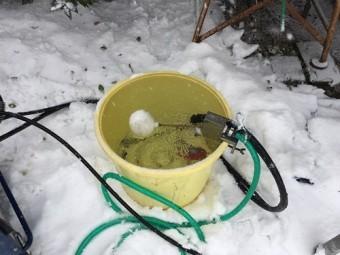 水 外壁洗浄 樽