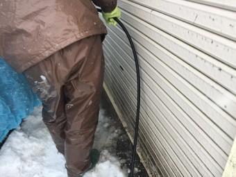 外壁洗浄 汚れ コンプレッサー