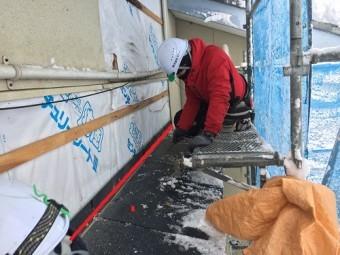 出窓屋根 防水紙 施工不良