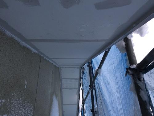 軒天 塗装 塗り始め 色ムラ防止