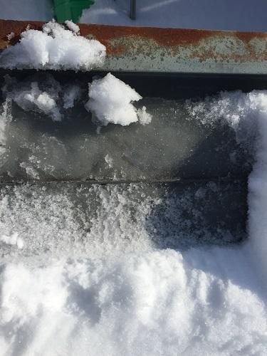雪 漏水 シャーベット状 スーパーハウス
