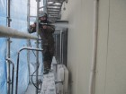 外壁洗浄 塗装前 新潟県新発田市