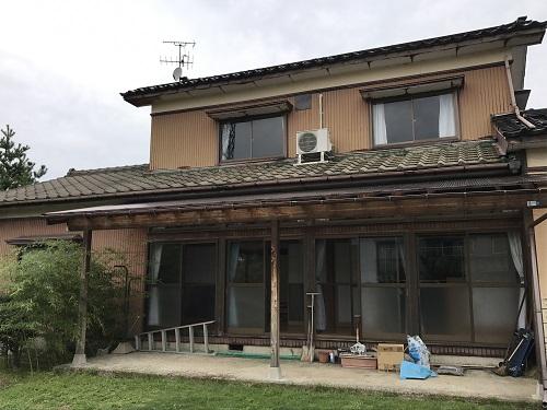 屋根葺き替え 全体 既存瓦