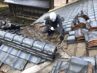 瓦屋根メンテナンス工事