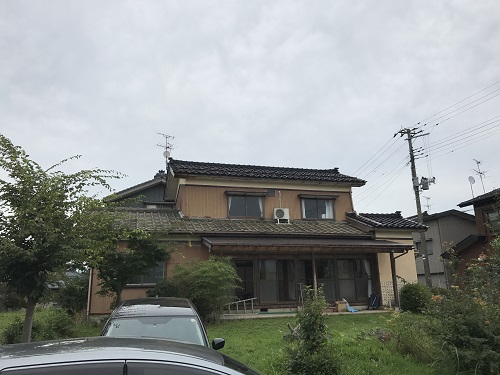 田上町 外装大型リフォーム 見学会