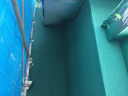 外壁塗装 弾性リシン吹付