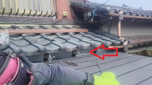 ガルバリウム鋼板 仕上げ 吹込み防止