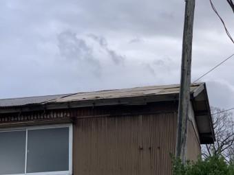小屋屋根修理