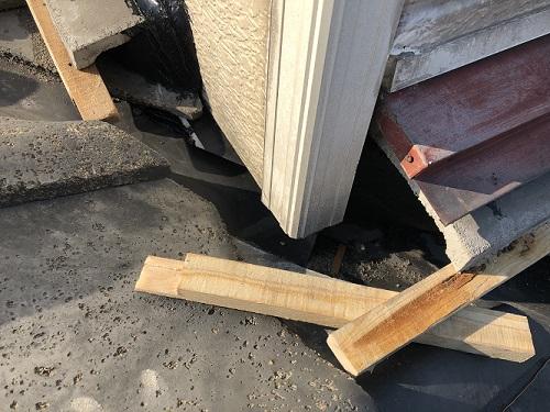 新潟市東区 棟 土居棟 漏水 雨漏り