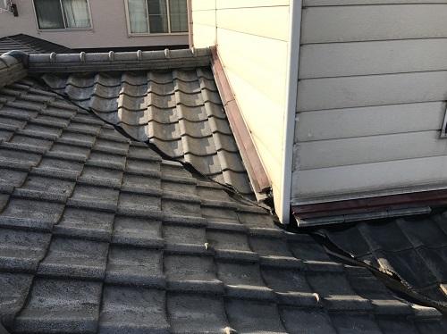 新潟市東区 竣工 雨漏り止水 復旧