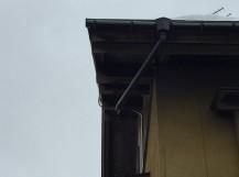 秋葉区 雨樋 竪樋 二階
