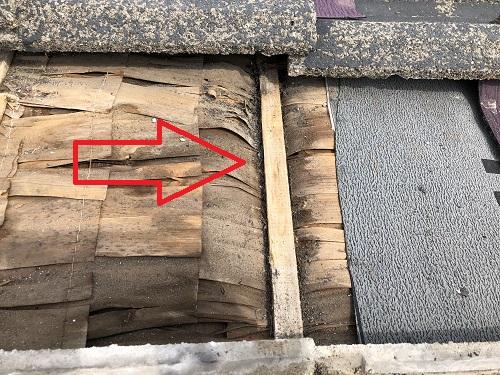 新潟県燕市 雨漏り 原因 下地
