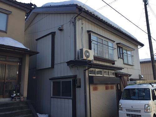 新潟県三条市 雨漏れ 調査 積雪