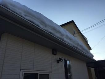 新潟県三条市 屋根 積雪 雨樋交換