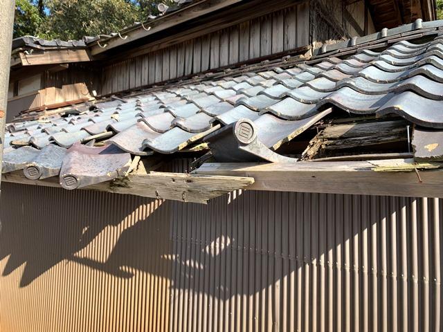 屋根瓦飛散防止ネット