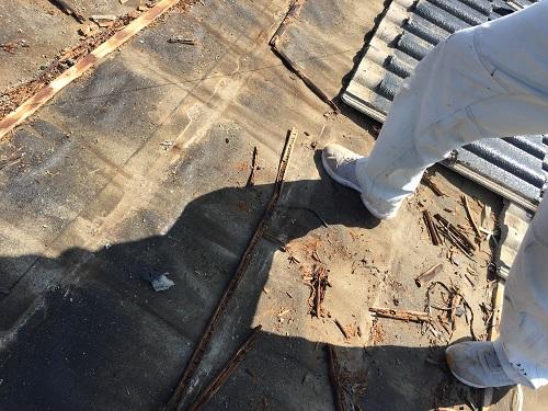 腐る 腐食 雨漏り 秋葉区