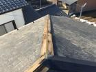 屋根棟板金修繕工事