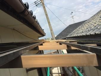 新潟市西区 ポリカ屋根 火災保険 災害
