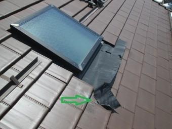 天窓の修繕