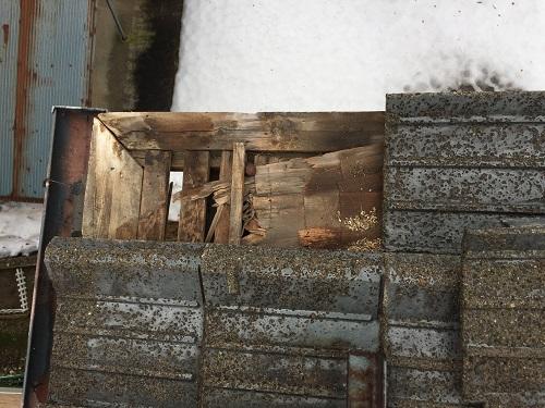 瓦撤去 木羽 腐食