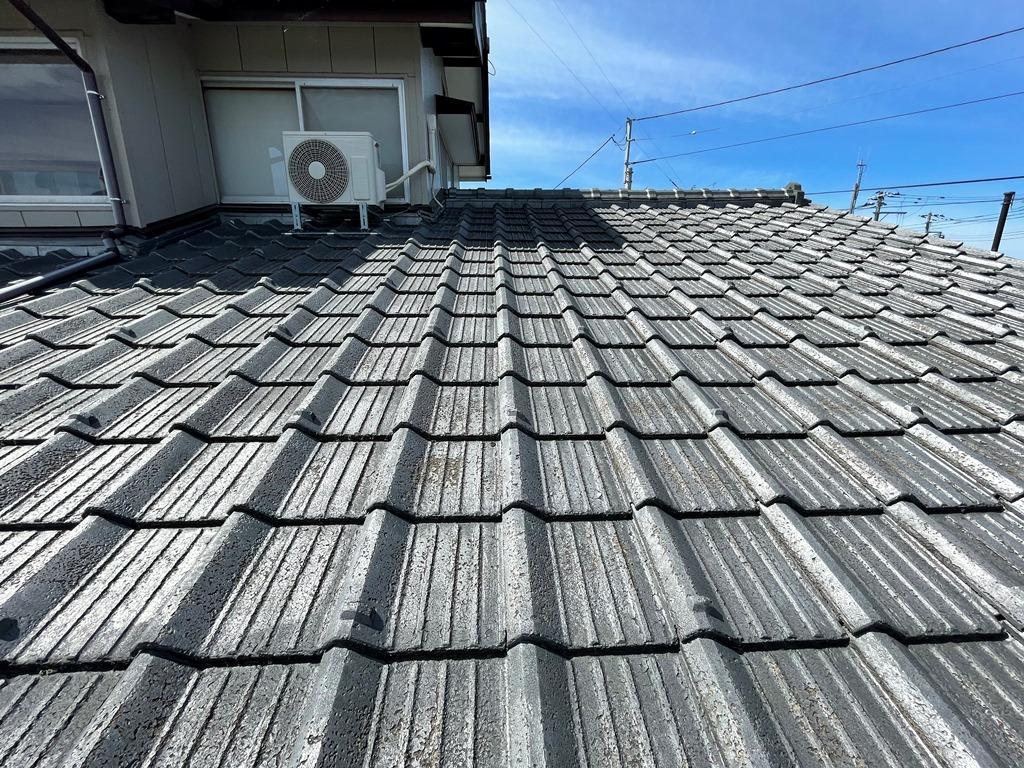 新潟市江南区にて築50年瓦屋根の葺き替え工事を検討しているとの事でご相談を頂きました