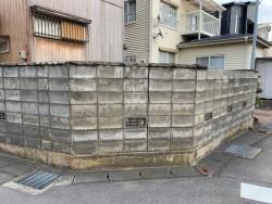 補助金を利用してブロック塀を撤去