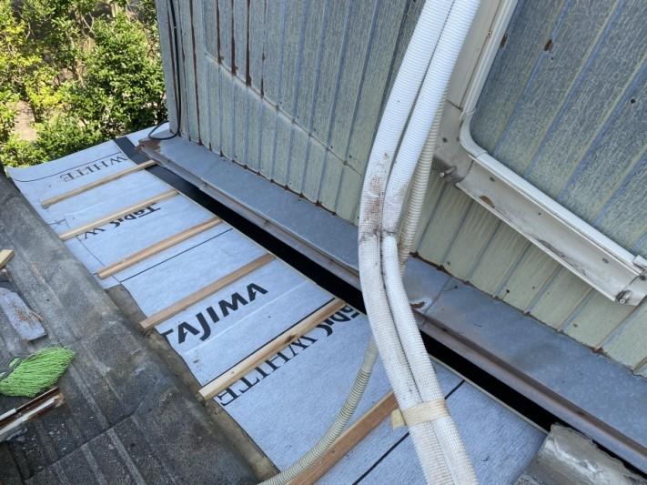 土居のしモルタル修繕工事