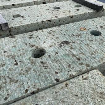 大矢石門柱造り替え工事