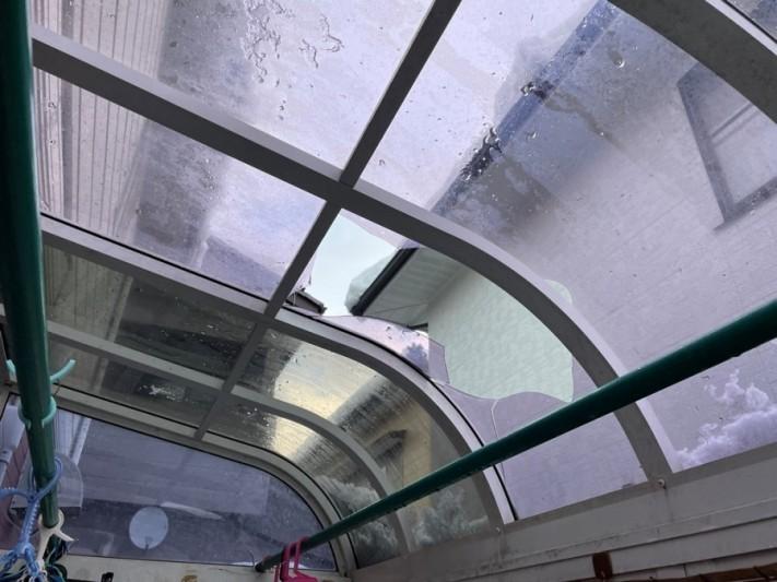 雪害によって起こるカーポートの被害