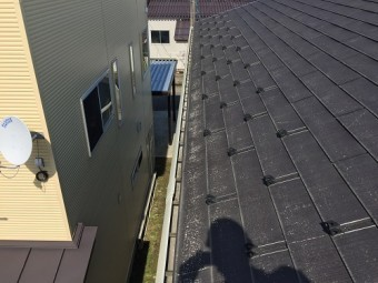 新潟県三条市 屋根 点検 スレート瓦