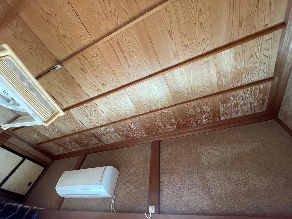 新潟市南区にて2階天井に雨染み発見!現地調査に伺ってきました